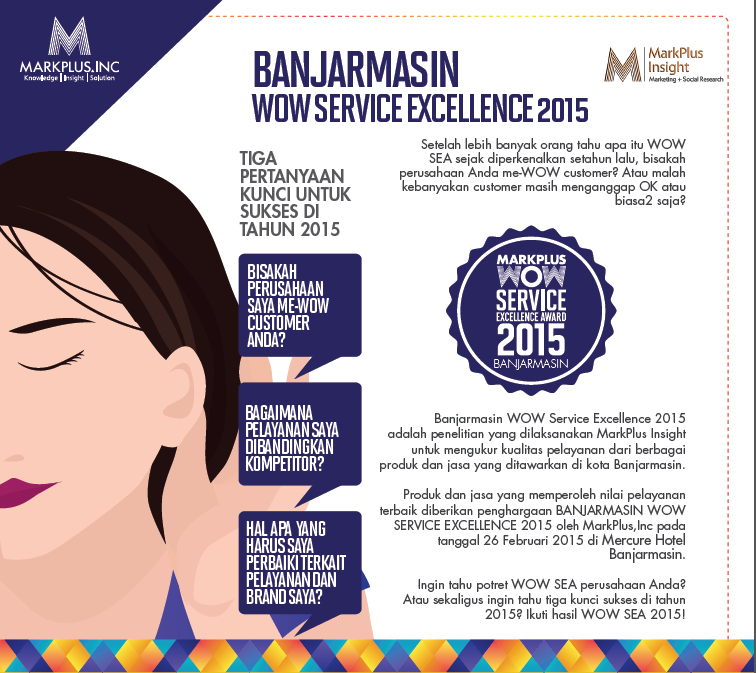 Banjarmasin Wow Service Excellence Award 2015 Wow